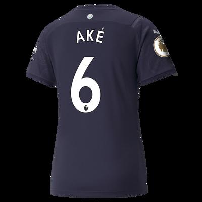 Womens Manchester City 3rd Shirt 21/22 with Nathan Aké printing