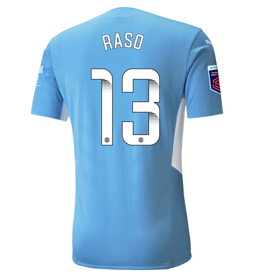 [Pre-order] Manchester City Authentic Home Shirt 21/22 with Hayley Raso printing