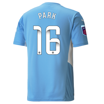 Manchester City Home Shirt 21/22 with Jess Park printing