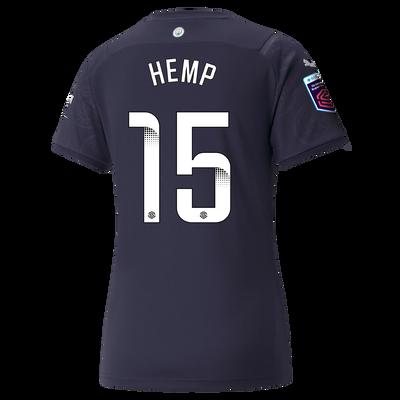 Womens Manchester City 3rd Shirt 21/22 with Lauren Hemp printing