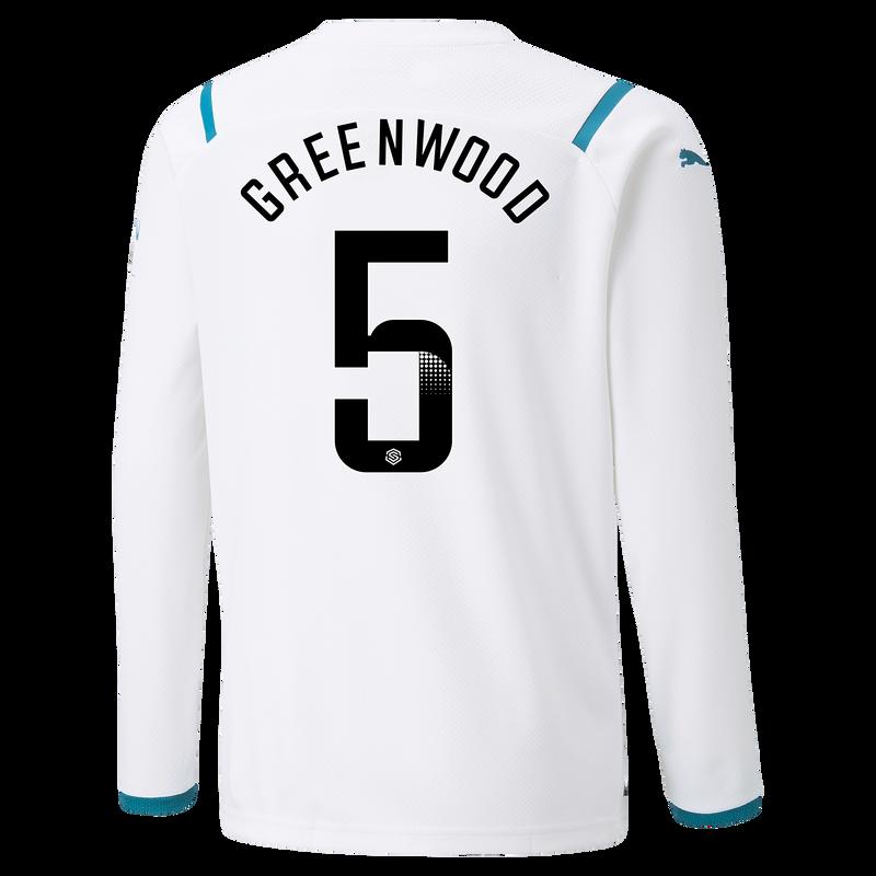 MCFC MW KIDS AWAY SL SHIRT SS-12-GREENWOOD-WSL-WSL -