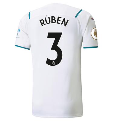 Manchester City Authentic Away Shirt 21/22 with Rúben Dias printing