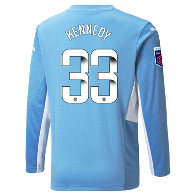 [Pre-order] Manchester City Home Shirt Long Sleeve 21/22 with Alanna Kennedy printing