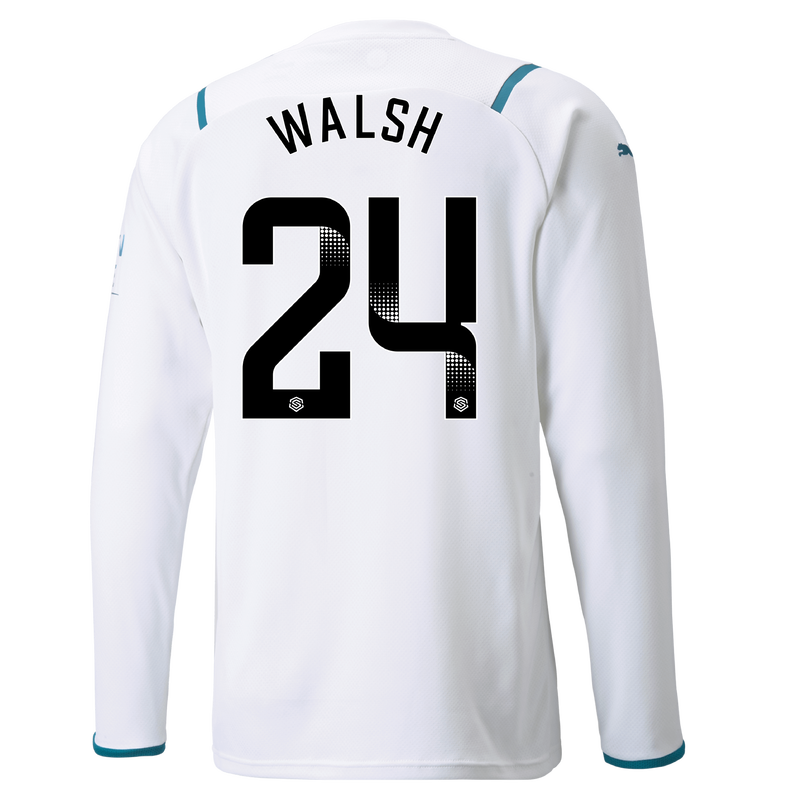 MCFC MW MENS AWAY SL SHIRT LS-24-WALSH-WSL-WSL -