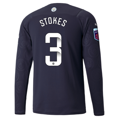 Manchester City 3rd Shirt Long Sleeve 21/22 with Demi Stokes printing