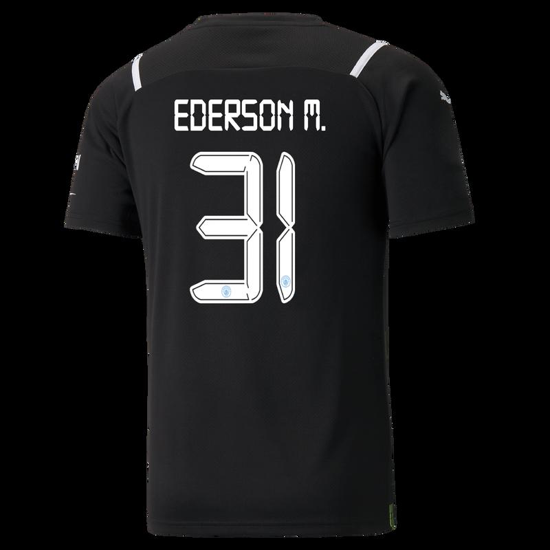 MCFC MW MENS GK REPLICA SL SHIRT SS-EDERSON M-EPL-NO - black