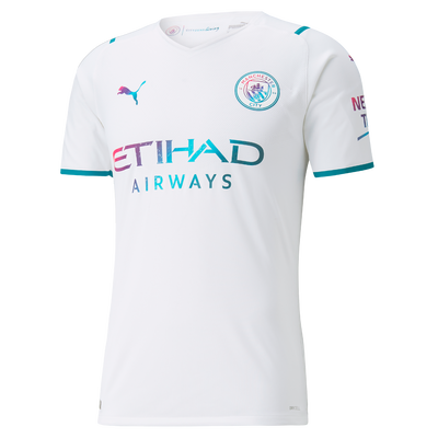 Manchester City Away Authentic Shirt 21/22