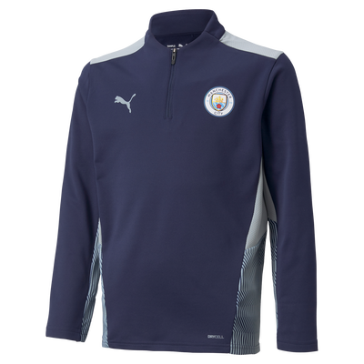 Kids Manchester City Training 1/4 Zip Top