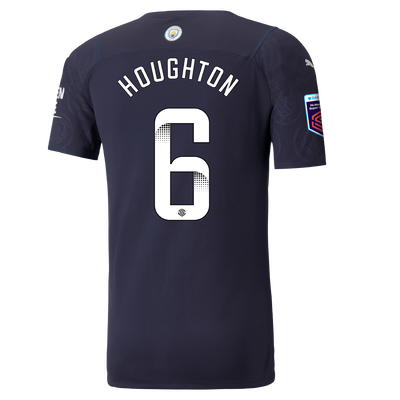 Manchester City Authentic 3rd Shirt 21/22 with Steph Houghton printing
