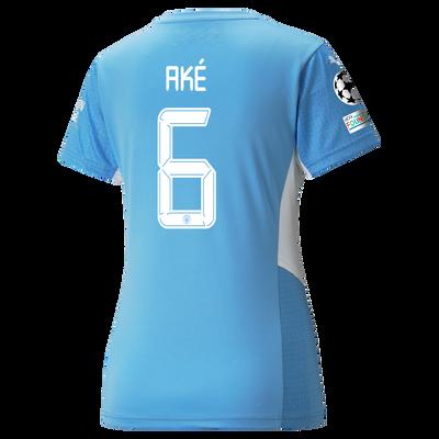 Womens Manchester City Home Shirt 21/22 with Nathan Aké printing