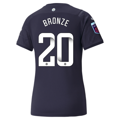 Womens Manchester City 3rd Shirt 21/22 with Lucy Bronze printing