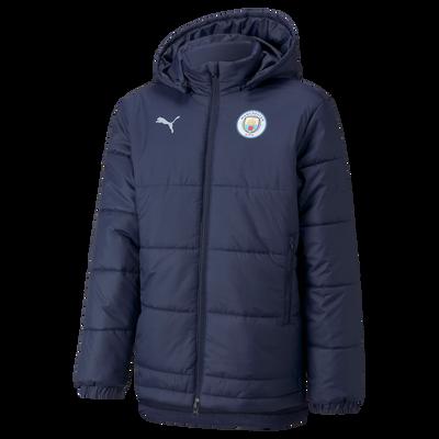 Kids Manchester City Training Bench Jacket