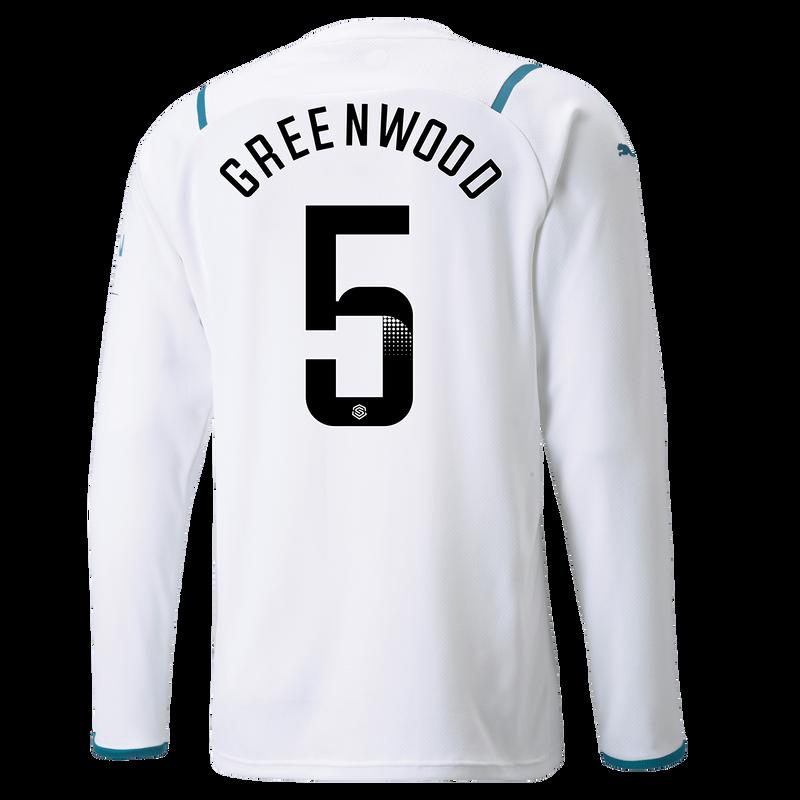MCFC MW MENS AWAY SL SHIRT LS-12-GREENWOOD-WSL-WSL -