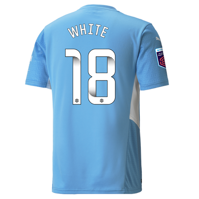 Manchester City Home Shirt 21/22 with Ellen White printing