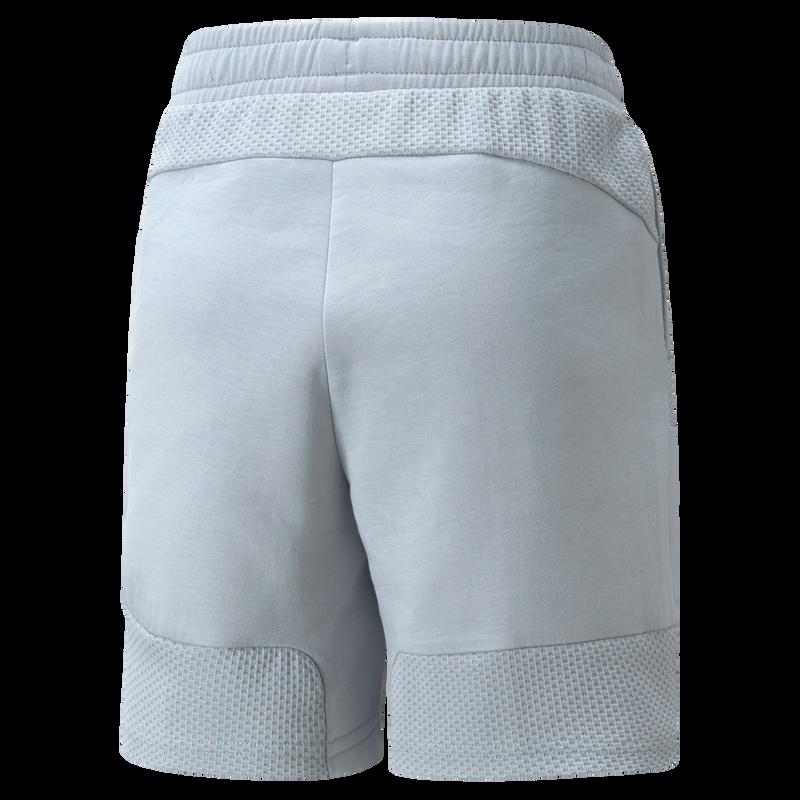 MCFC LW KIDS CASUALS SWEAT SHORTS - grey