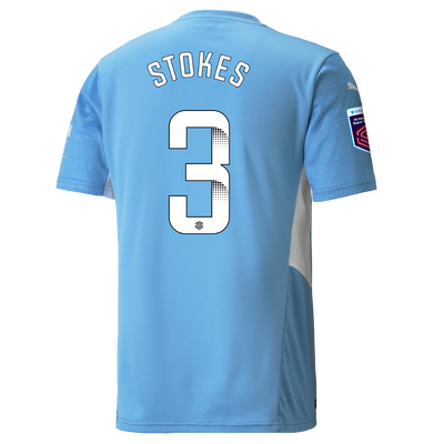 Manchester City Home Shirt 21/22 with Demi Stokes printing