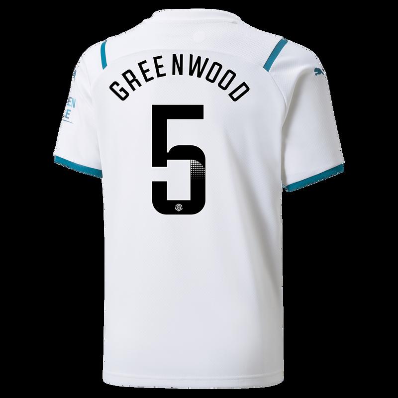 MCFC MW KIDS AWAY SL SHIRT SS-GREENWOOD-WSL-WSL-TRUE -