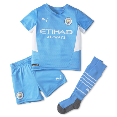 Kids Manchester City Home Mini-kit 21/22