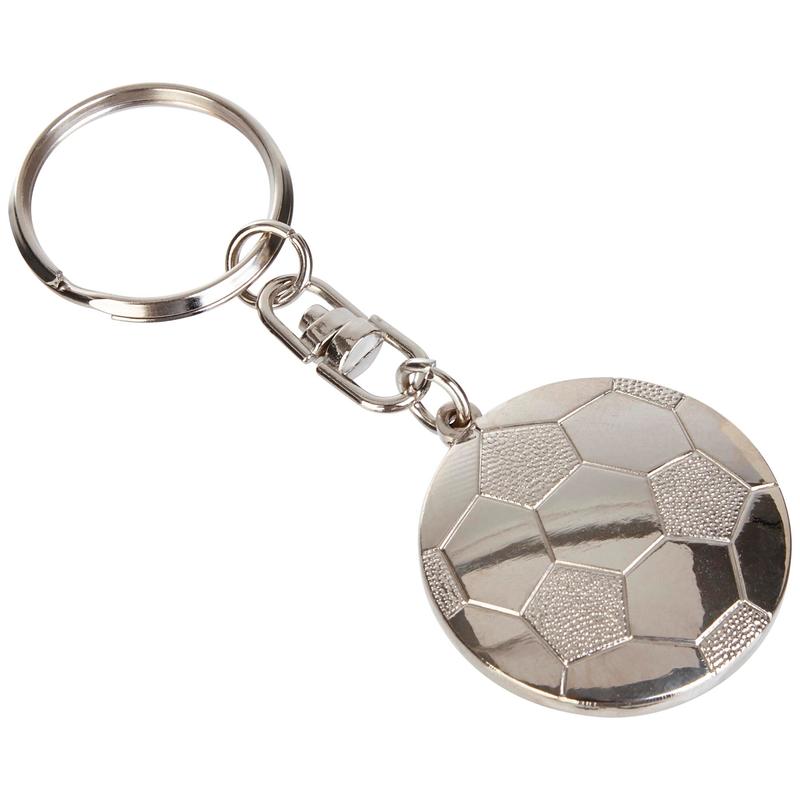 MCFC FW BALL KEYRING F - silver