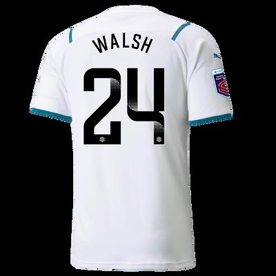 Manchester City Away Shirt 21/22 with Keira Walsh printing