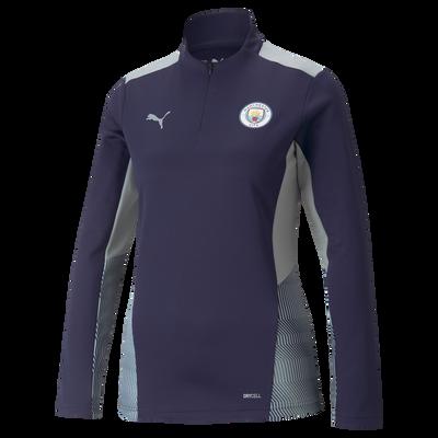 Womens Manchester City Training 1/4 Zip Top