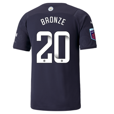 Manchester City 3rd Shirt 21/22 with Lucy Bronze printing