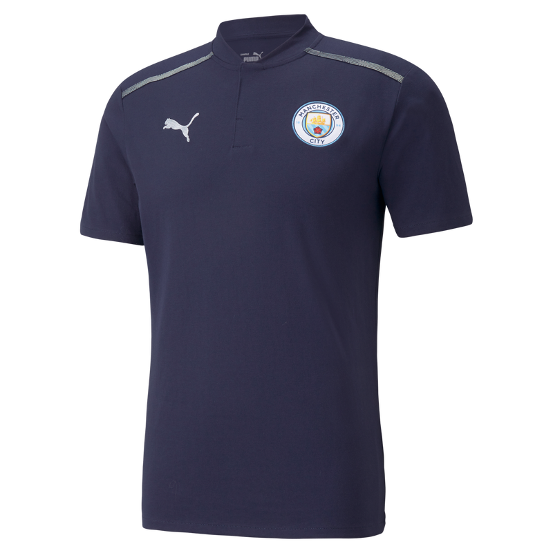 MCFC LW MENS CASUALS POLO SS - navy