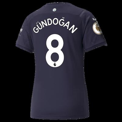 Womens Manchester City 3rd Shirt 21/22 with İlkay Gündoğan printing