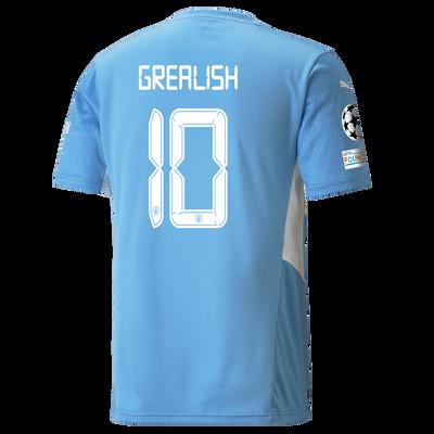 Manchester City Home Shirt 21/22 with Jack Grealish printing