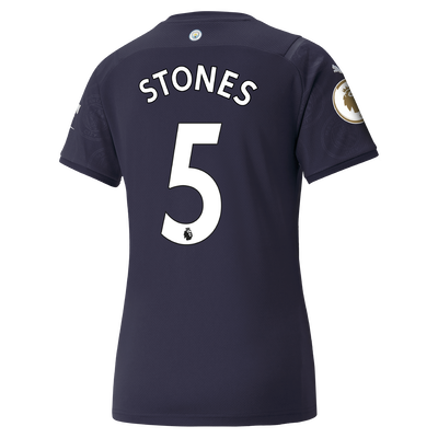 Womens Manchester City 3rd Shirt 21/22 with John Stones printing
