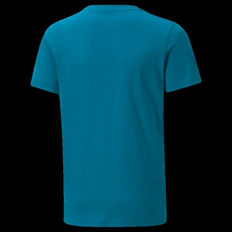MCFC LW KIDS FTBL CORE TEE SS - turquoise