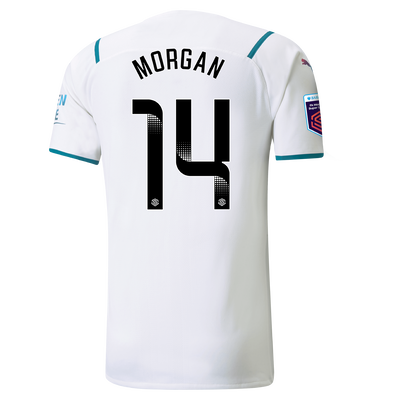 Manchester City Authentic Away Shirt 21/22 with Esme Morgan printing
