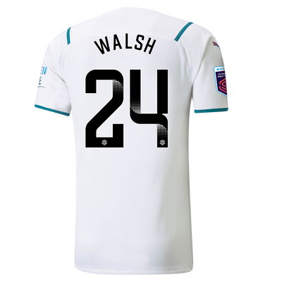 Manchester City Authentic Away Shirt 21/22 with Keira Walsh printing