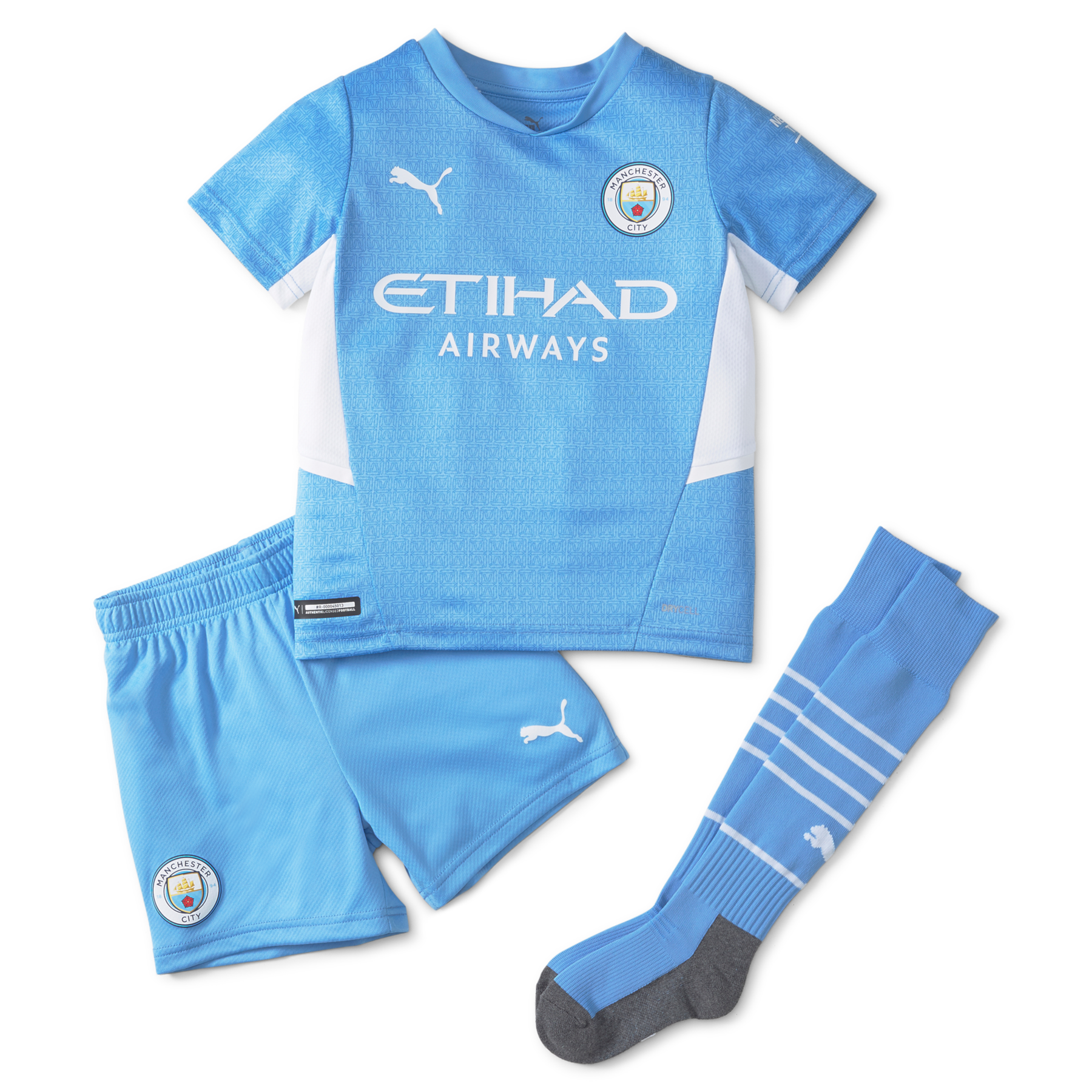 Manchester City Home Mini Kit 2021 2022 Official Man City Store